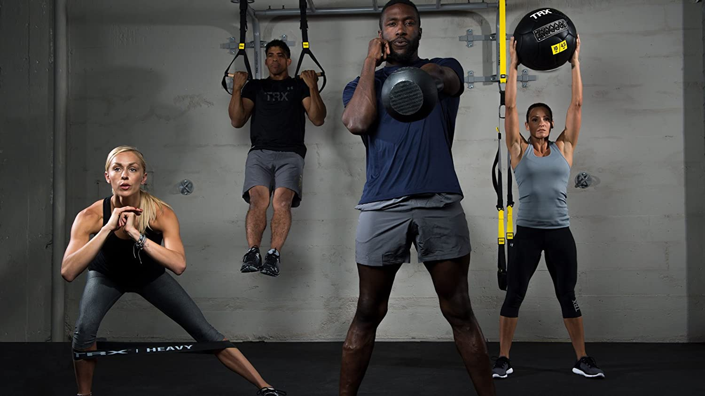 TRX entrenamiento – Set de 4 Mini bandas, de forma segura aumenta la intensidad de cualquier ejercicio