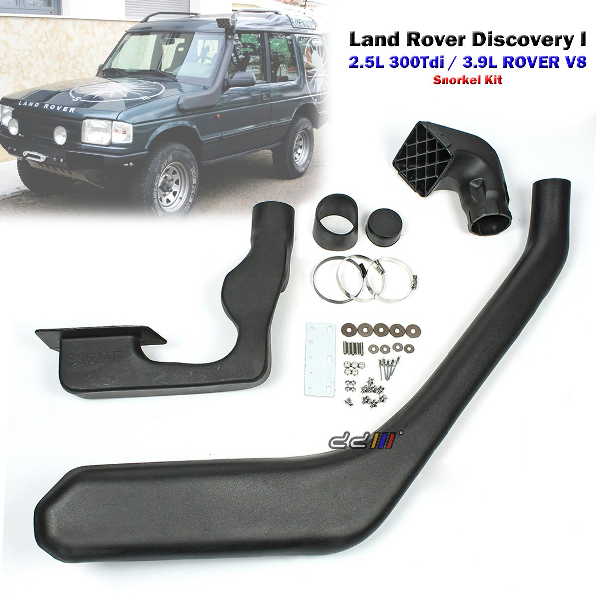 4x4 Off Road Snorkel Kit For Land Rover Discovery 1 300 1998 Parts Series 300tdi 1994 98 Automotive