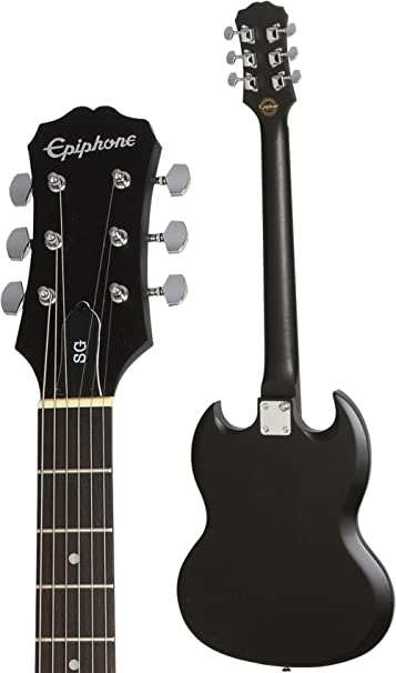 Amazon.com: Epiphone SG Special VE Electric Guitar Ebony: Musical Instruments
