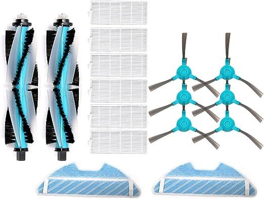 Etase Accesorios para Cecotec Conga 1390 1290 Robot Aspirador Repuestos Conjunto: Amazon.es: Hogar