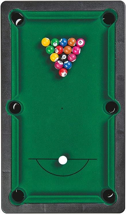 noris Pool Billiard & Snooker-Aktionsspiel für Die ganze Familie-Spielzeug AB 4 Jahre 606167704-Piscina Snooker (Incluye 2 Tacos, 16 Billar y 17 Bolas, para niños a Partir de 4 años) (606167704): Amazon.es: Juguetes y juegos