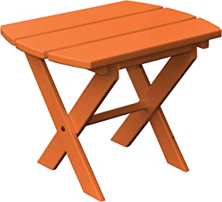 product image for Poly Folding End Table - Orange