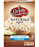 Orville Redenbacher's Gourmet Naturals Popcorn, Simply Salted, 76.3 g Bags, 3 Bags