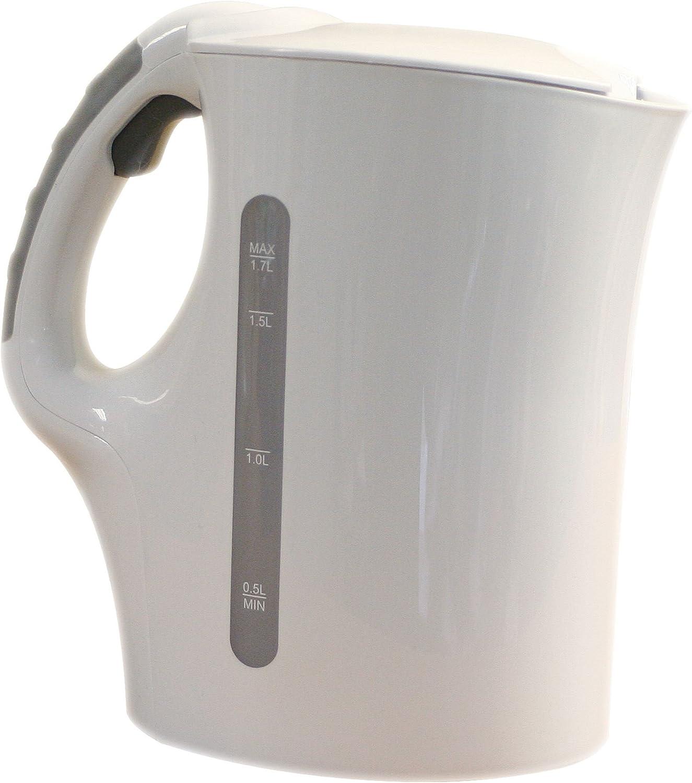1.7l low wattage kettle white