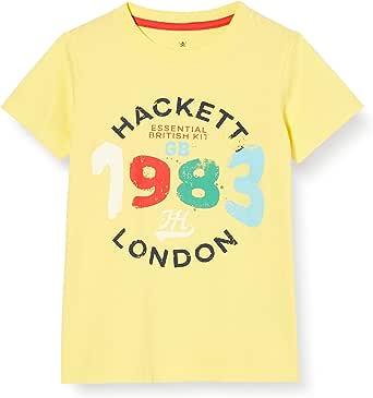 Hackett London Logo Splatter T B Camiseta para Niños