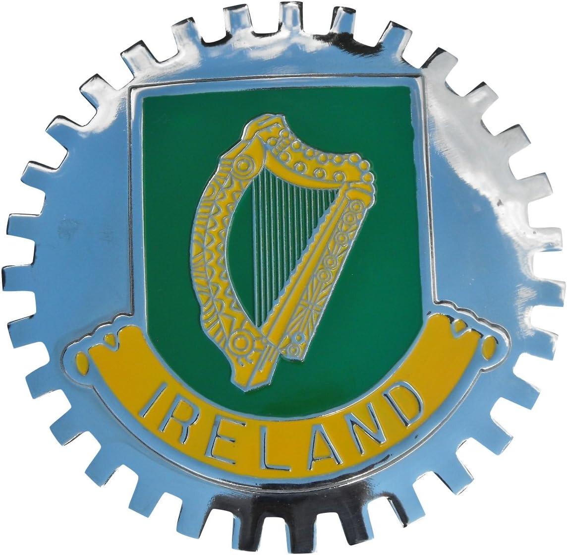 HARP IRELAND CAR GRILLE EMBLEM BADGES