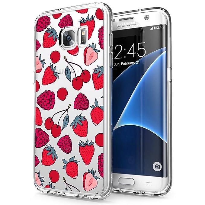 Carcasa Transparente para Samsung Galaxy S7 Edge, diseño de ...