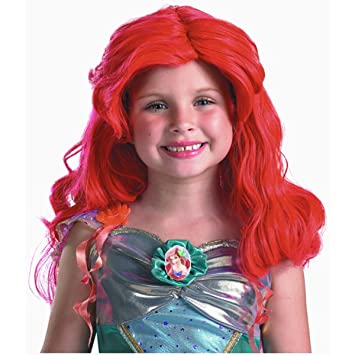 Disney Ariel Wig,One Size Child (peluca)