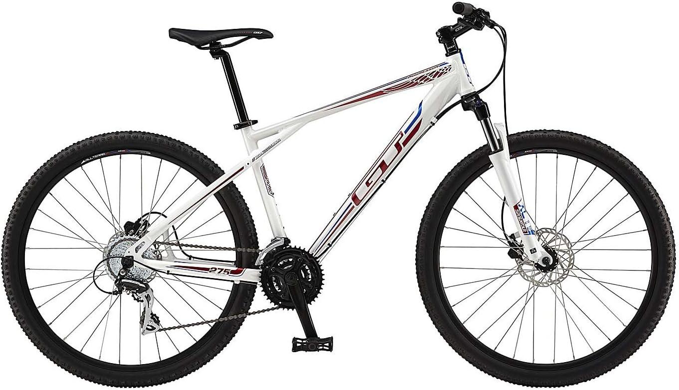 27.5 Bicicleta de montaña MTB GT aggressor Expert Gloss White ...