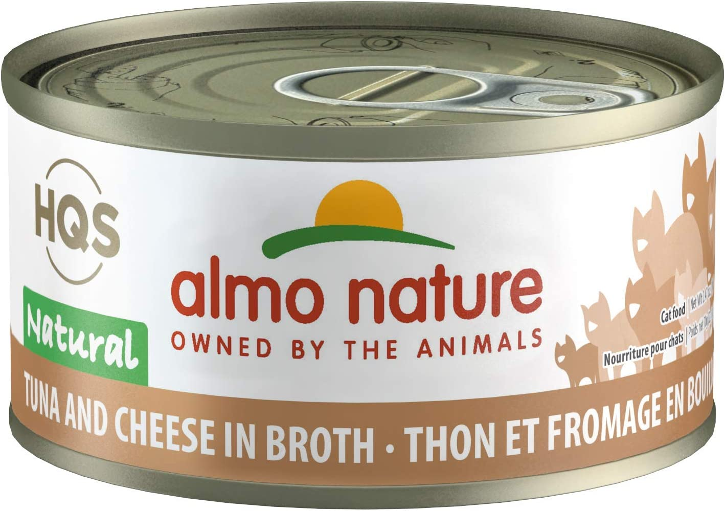 Almo Nature HQS Natural, Additive Free, Grain Free Adult Cat Canned Wet Food