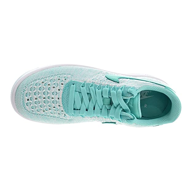 new style dfcf9 22b1a NIKE W AF1 Flyknit Low Women s Shoes Hyper Turquoise 820256-300 (11 B(M)  US)  Amazon.co.uk  Shoes   Bags