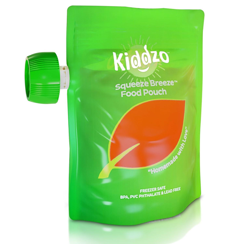 Amazon.com: Bolsas desechables para comida de bebé., Paquete ...