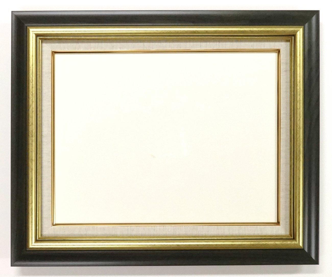 大額 油彩用額縁 8116 アクリル仕様 壁用フック付 (F10, グリーン) B01NAI1F53 F10|グリーン グリーン F10