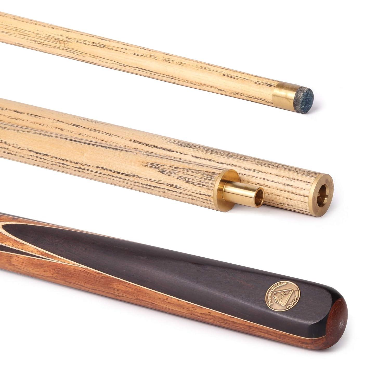 Powerglide Axas Medium Queue de snooker 2 pièces Professionnel Unisexe Fût ébène 144 cm   B0051CMJXS