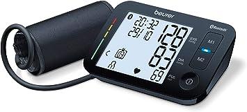 Beurer BM54 - Tensiómetro de brazo con Bluetooth, color negro ...