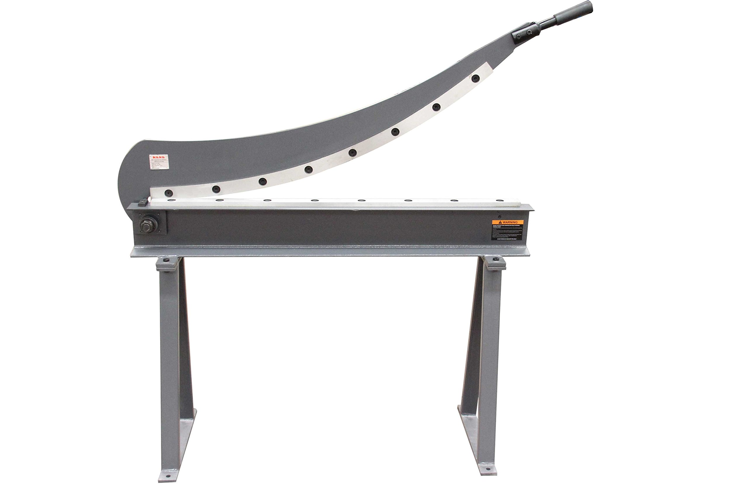 KAKA Industrial HS-1000 Manual Guillotine Shear, 40-Inch,16 Gauge Sheet Metal Fabrication Plate Cutting Cutter With Stand by KAKA INDUSTRIAL (Image #1)