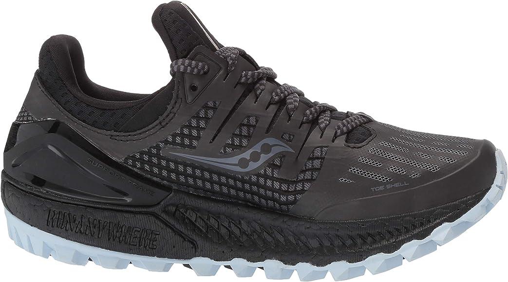 Saucony Xodus ISO 3, Zapatillas de Trail Running para Mujer, Gris ...