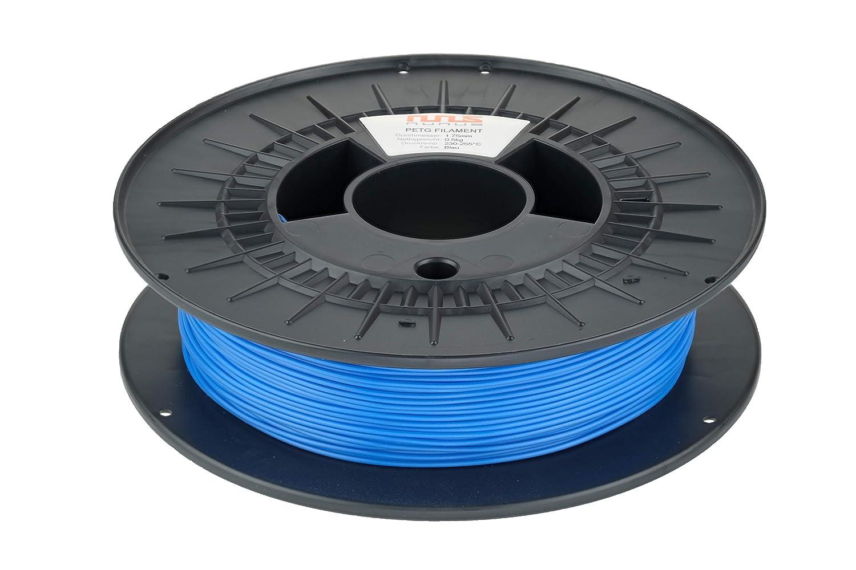 NuNus 3D Printer Impresora ABS Filament 1,75mm 1KG azul