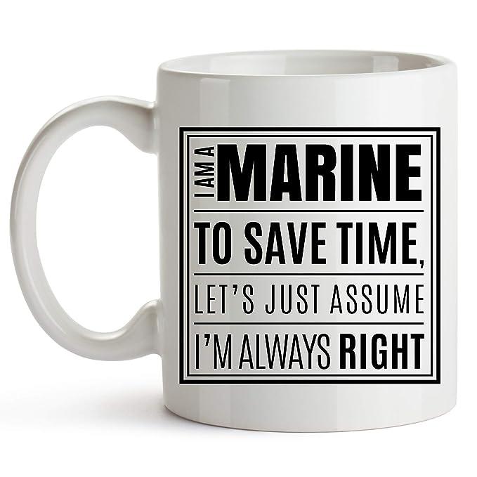 Home Garden Usmc Coffee Mug Gift Set United States Marine Corps American Patriot Novelty Cup Mugs
