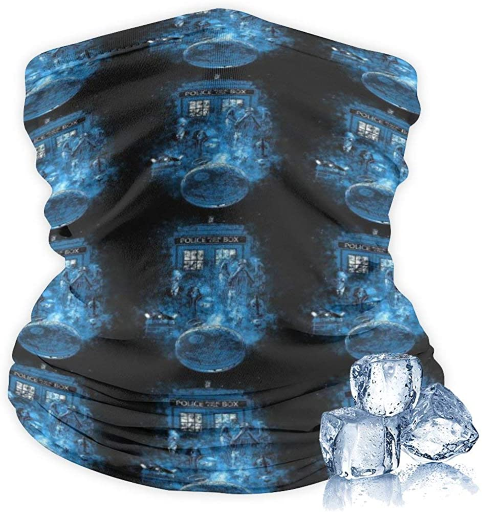 Neck Gaiter Tube face Scarf Summer Windproof Ear Face Mask. Thermal Neck Warmer