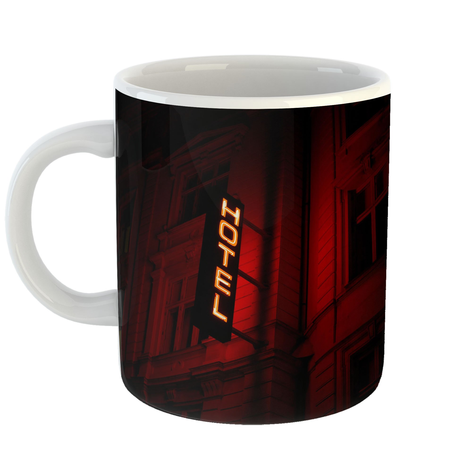 Westlake Art - City Hotel - 11oz Coffee Cup Mug - Modern Picture Photography Artwork Home Office Birthday Gift - 11 Ounce (FC8B-701A4)