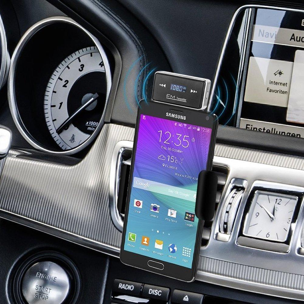 HTC Huawei Samsung Tablet PC, Smartphone R/écepteur st/ér/éo de voiture 3,5 mm avec st/ér/éo pour iPod iPhone 7//7 Plus 6S SE 6 5S 5C 5 5G 4S