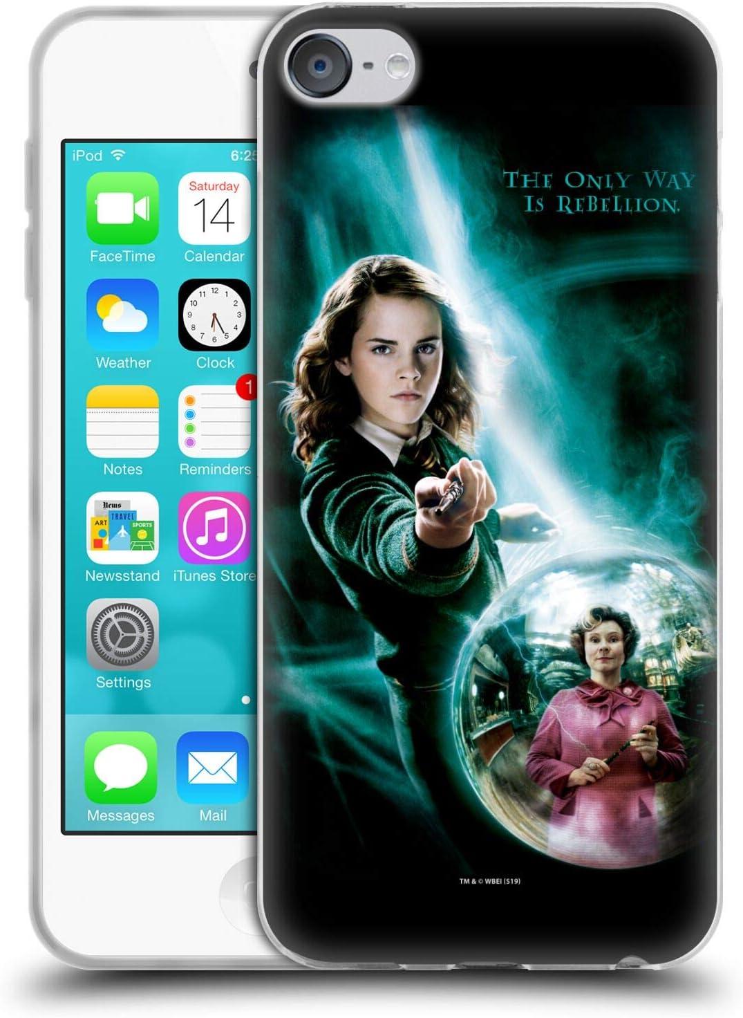 Head Case Designs Oficial Harry Potter Luna Lovegood Patronus Order of The Phoenix I Carcasa de Gel de Silicona Compatible con Touch 6th Gen//Touch 7th Gen