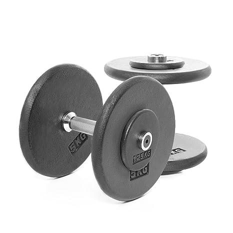 Bodypower Pro-style mancuernas 12,5 kg (X2)