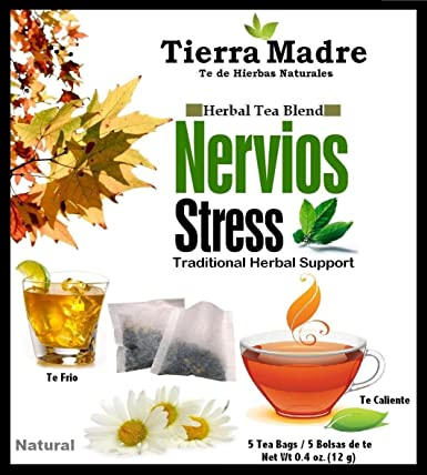 Amazon.com : Tierra Madre Stress Tea Tradiconal Herbal ...