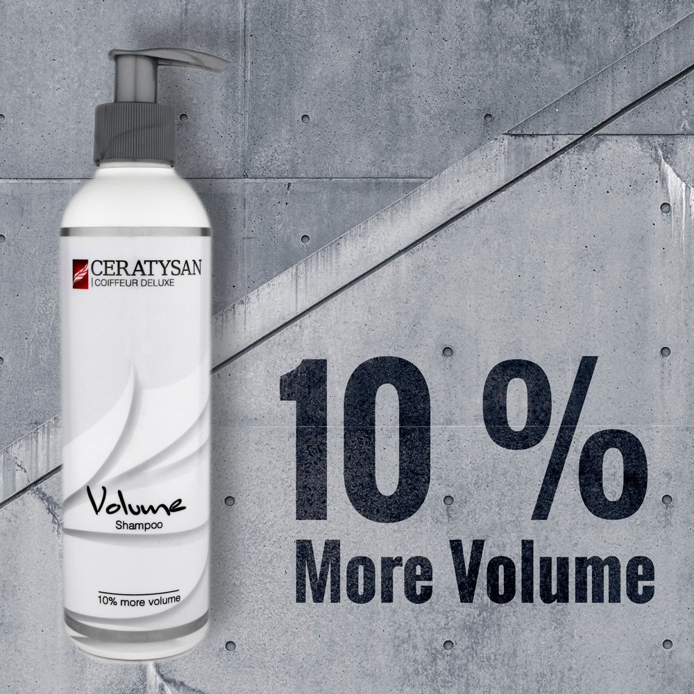 COIFFEUR DELUXE champú de volumen sin silicona | 10% más de volumen | Para cabello fino | 250 ml | Orgánico | Producto de peluquería: Amazon.es: Belleza