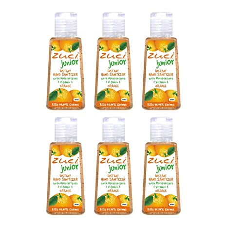 Buy Zuci Orange Hand Sanitizer Pack Of 6 Online At Low Prices In