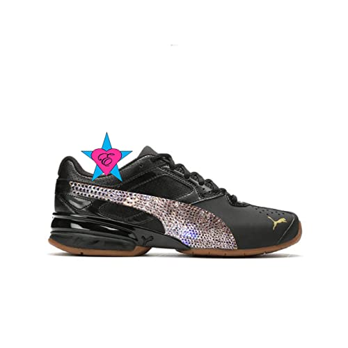 design de qualité f9155 6104f Amazon.com: Custom Rhinestone Shoes for Women | Puma Tazon 6 ...