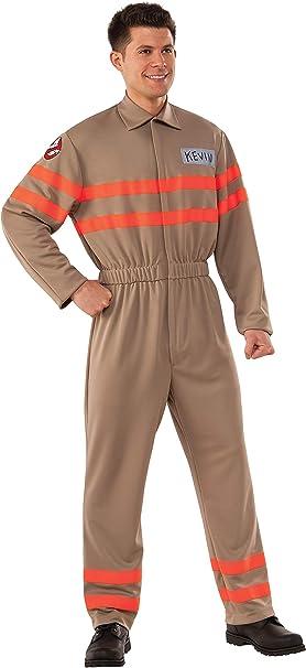 Ghostbusters - Disfraz de Cazafantasmas Kevin para hombre, Talla ...