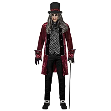 WIDMANN 07661 Adultos Disfraz Victoriano Vampiro, S: Amazon.es ...
