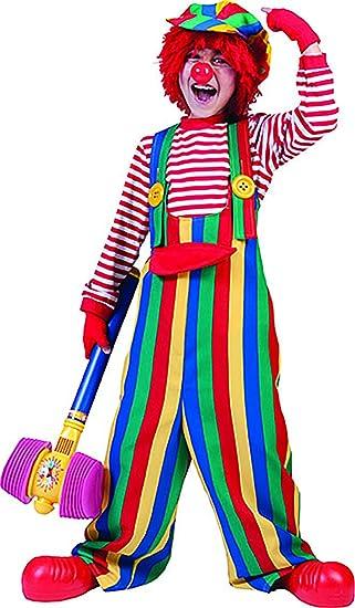 confettery – Multicolor Niños Peto con divertidos Botones de rayas ...