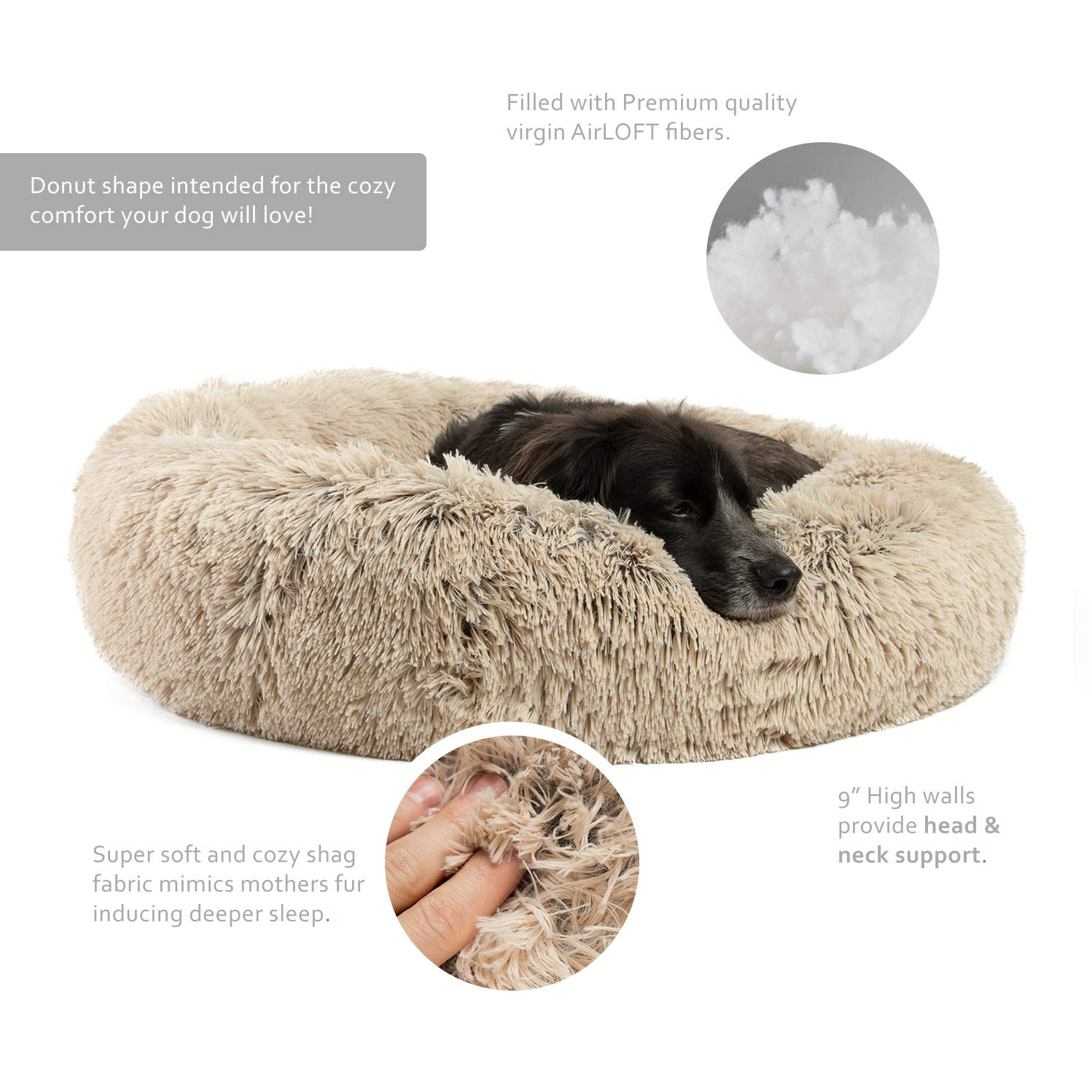 Zippered Shell Best Friends by Sheri Nap Mat with CertiPUR Orthopedic High-Density Foam Shag 27x36x2.5 Frost Machine Washable