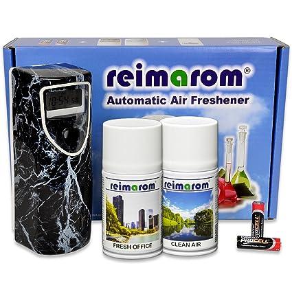 Dispensador de aroma (Anti Smoke Incluye aerosol Dispenser Marble y dos años exclusivos eliminación de