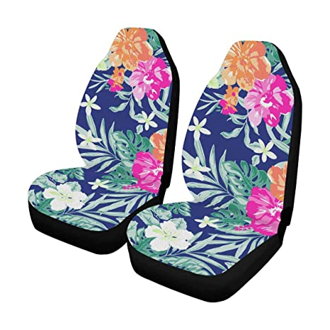 Hawaiian Car Seat Covers >> Amazon Com Interestprint Hawaiian Tropical Floral Car Seat