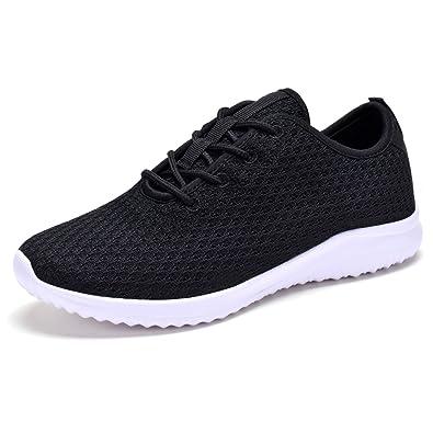 8782c2d9022 YILAN Women s Fashion Sneakers Casual Sport Shoes New Black-6