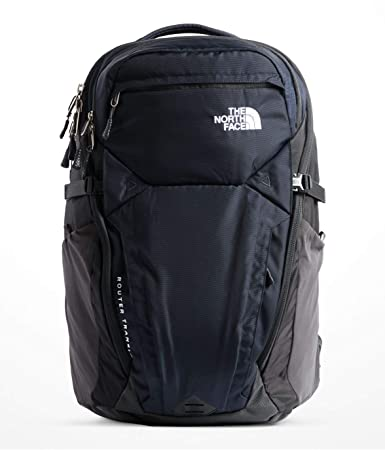 138981f02b Amazon.com | The North Face Router Transit Backpack, NF0A3KXK, One Size  (COSMIC BLUE/ASPHALT GREY) | Casual Daypacks