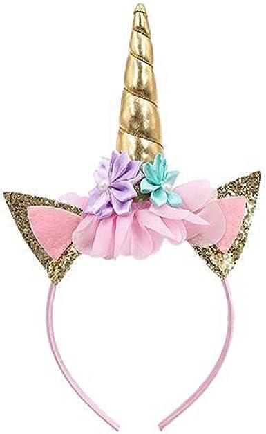 Amazon Com 1 Pack Unicorn Headband Perfect Unicorn Party Favor Unicorn Party Supplies Clothing