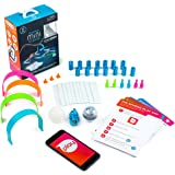 Sphero Mini Activity Kit: App-Enabled Programmable Robot Ball with 55 Piece Construction Set - STEM Educational Toy for Kids