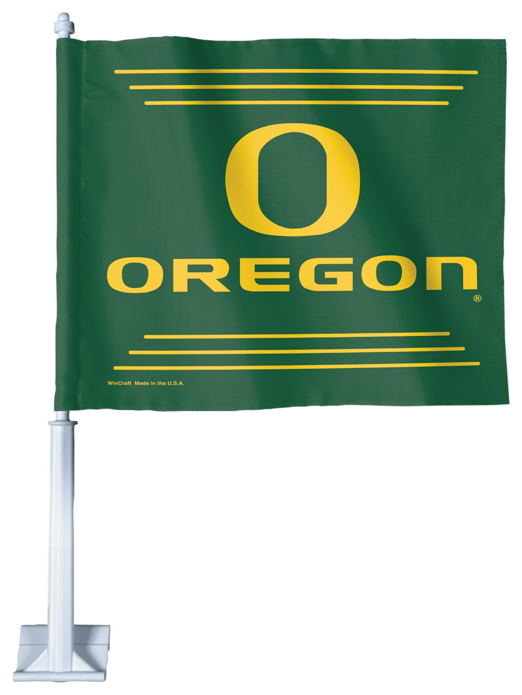 NCAA Oregon Ducks車フラグ   B003MA0J88