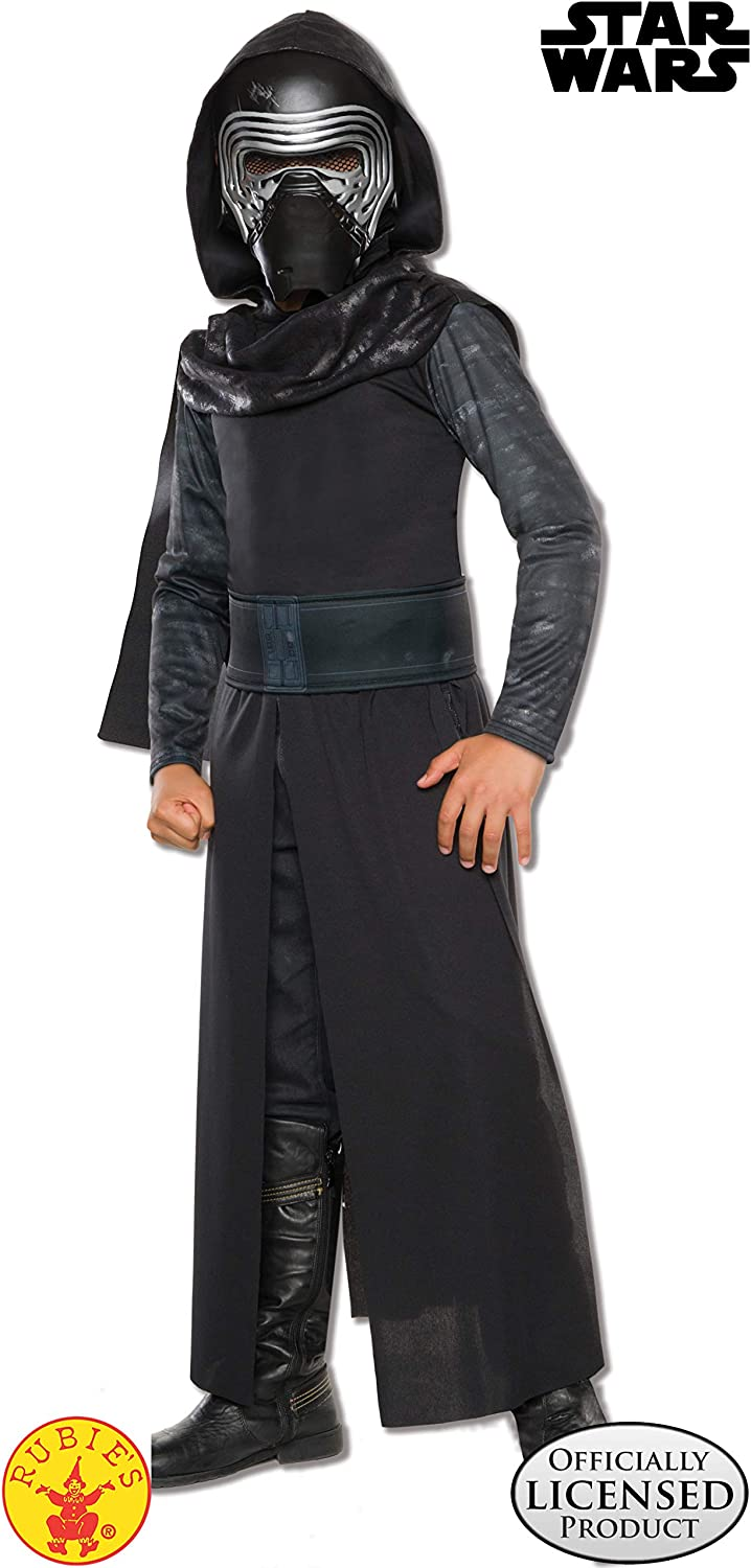 Amazon Com Star Wars The Force Awakens Child S Kylo Ren Costume Medium Toys Games