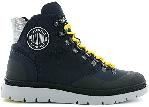 Palladium Plsidr CTD MI M, Baskets Hautes Hommes, Bleu (Indigo/Black/Indigo), 41 EU