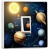 Planets Light Switch Sticker Vinyl / Skin cover sw49