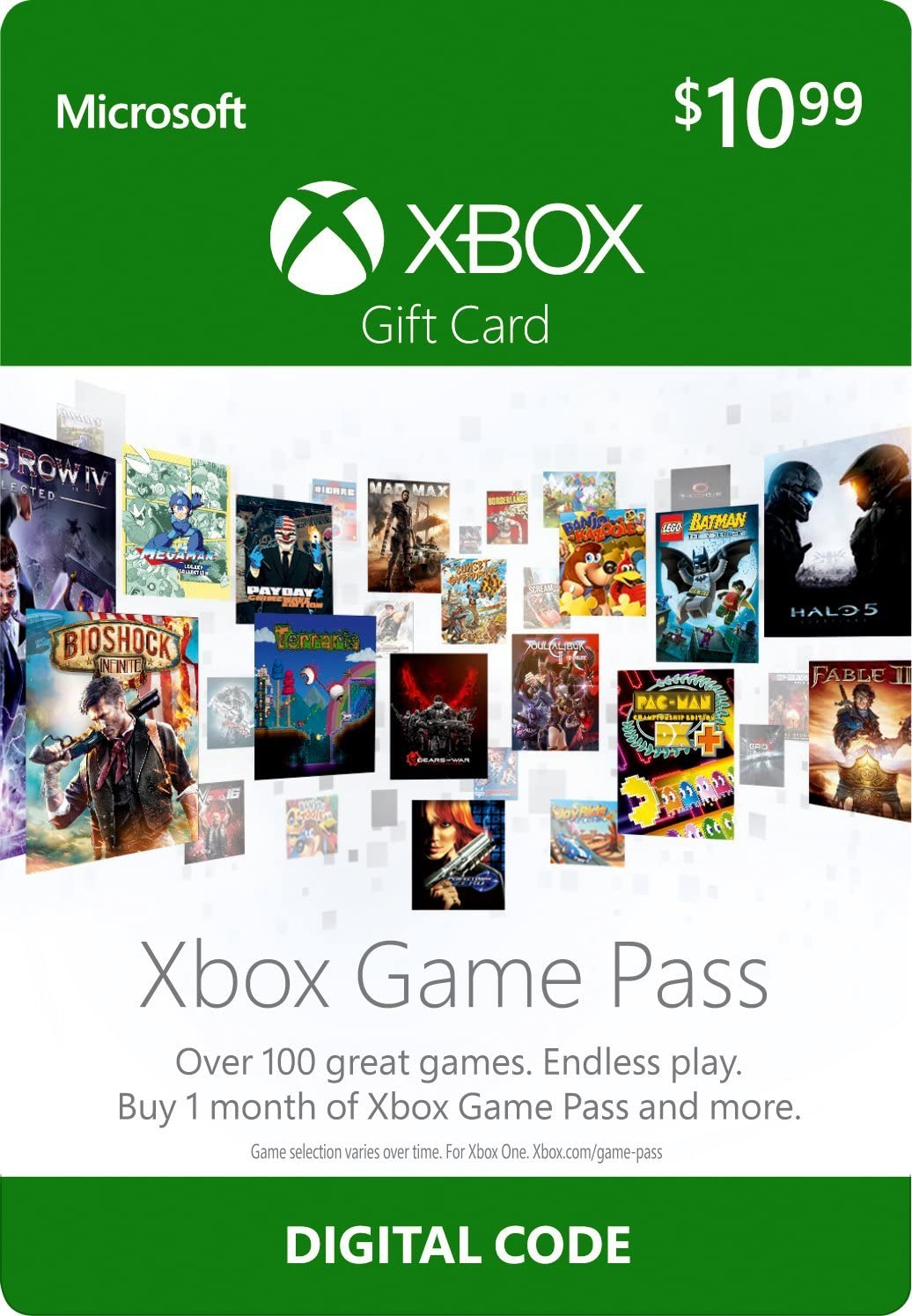 amazon com 12 xbox game pass gift card xbox one digital code