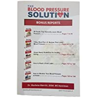 The Blood Pressure Solution - Bonus Reports - 2017 - Paperback