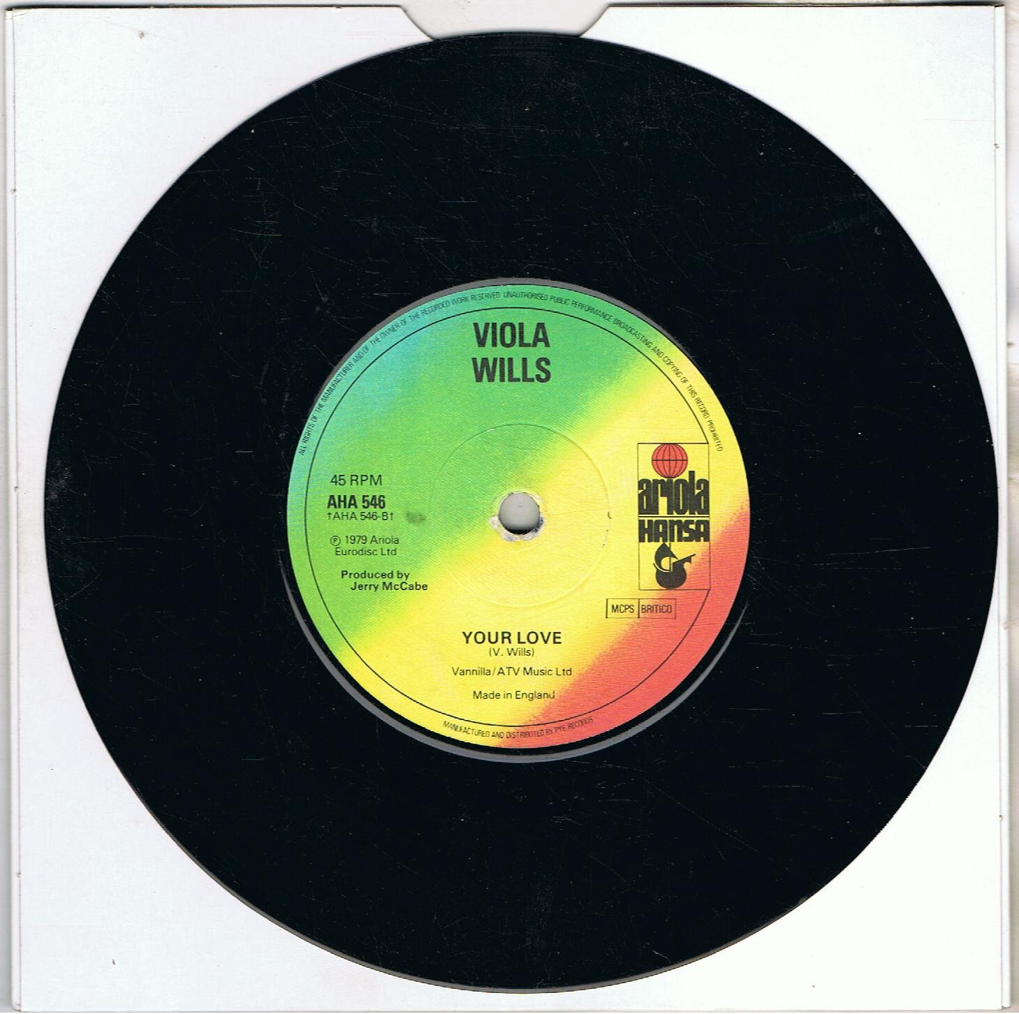 Viola Wills - Gonna Get Along Without You Now / Your Love - Ariola ...