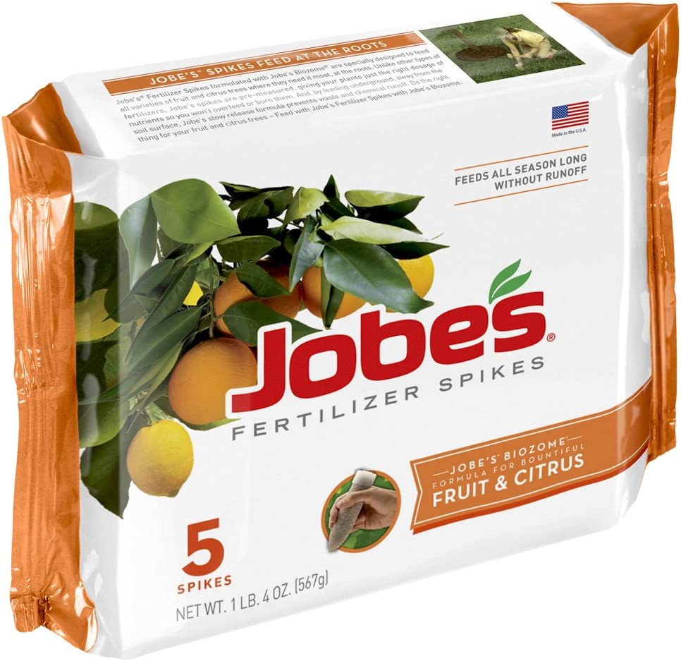 Jobe's 01002 Fruit & Citrus Fertilizer Spikes